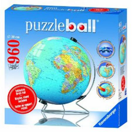 ravensburger puzzleball 960 globe happy go lucky located. Black Bedroom Furniture Sets. Home Design Ideas